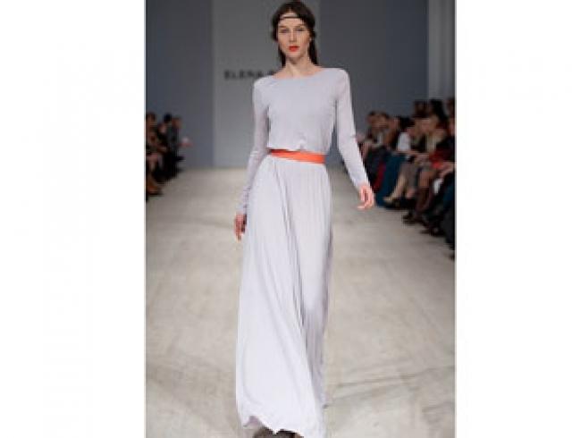 Платье до пола от Elena BURBA