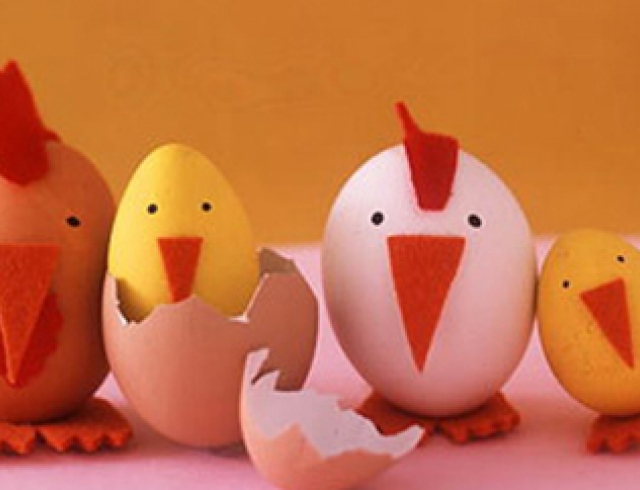 Пасхальные яйца: пять идей декора