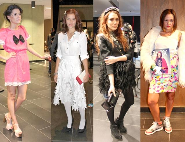 Модные гости на Mercedes-Benz Kiev Fashion Days