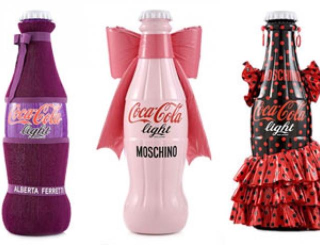Итальянские дизайнеры «одели» бутылку Соса-Сola