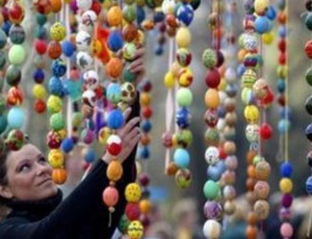 Пасха-2012 в Киеве: ярмарки и гуляния
