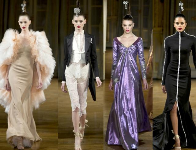 Неделя высокой моды в Париже: Alexis Mabille