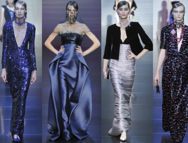 Неделя высокой моды в Париже: показ Armani Privé