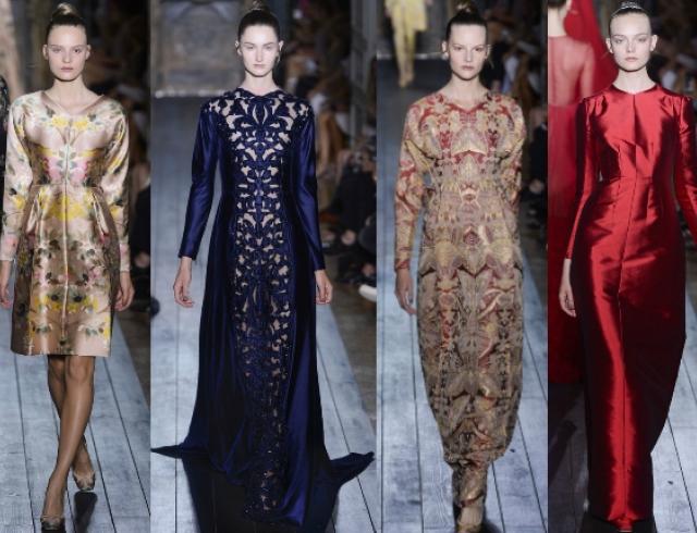Неделя высокой моды в Париже: Valentino