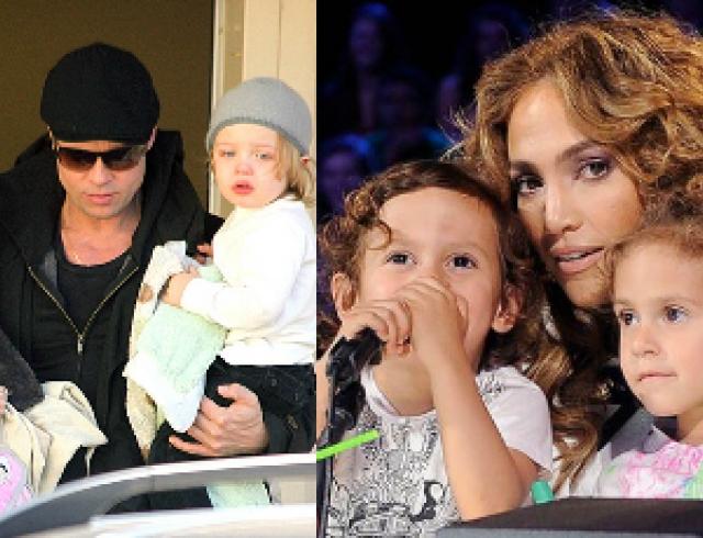 Дети знаменитостей: двойняшки и близняшки