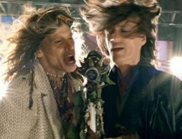 Aerosmith представили первый клип за 8 лет. Видео