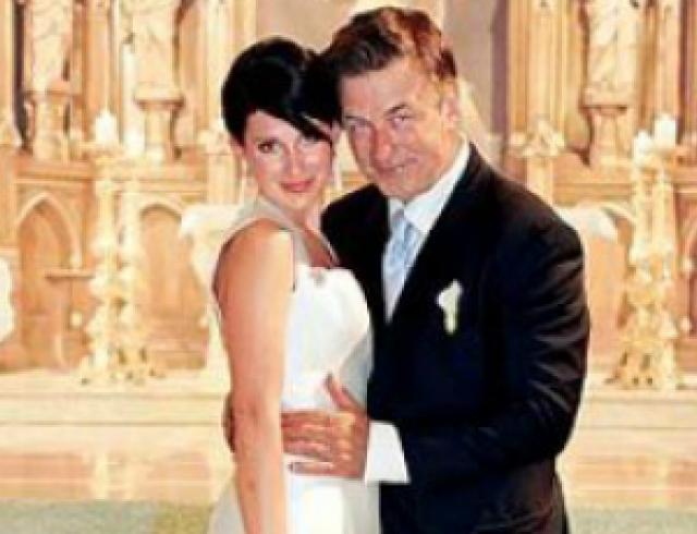 Появилось фото со свадьбы Алека Болдуина