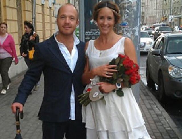 Евгений Стычкин и Ольга Сутулова поженились. Фото