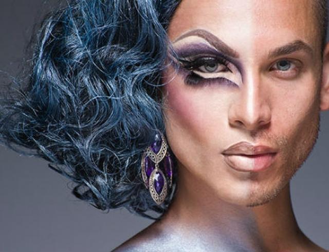 Как выглядят мужчины-трансвеститы в образе и без. Фото