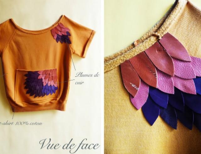 35 идей декорирования футболок