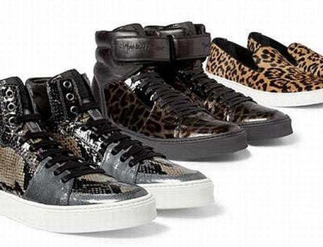 «Дикая» обувь от Yves Saint Laurent. Фото