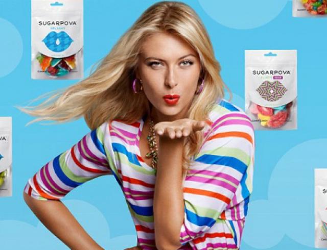 Мария Шарапова представила свой конфетный бренд