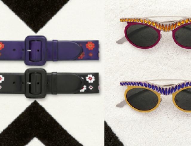 Коллекция аксессуаров и обуви Prada осень 2012. Фото