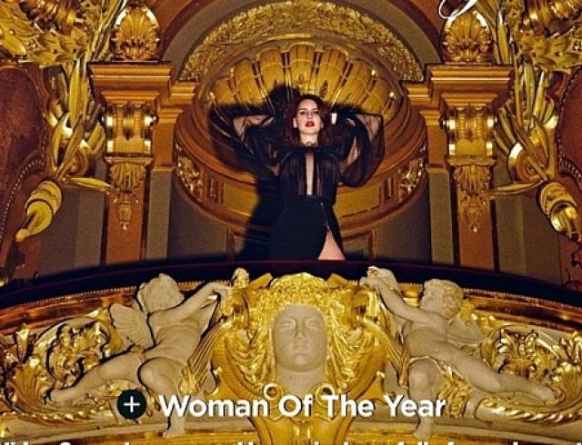 Женщина года разделась для глянцевого журнала