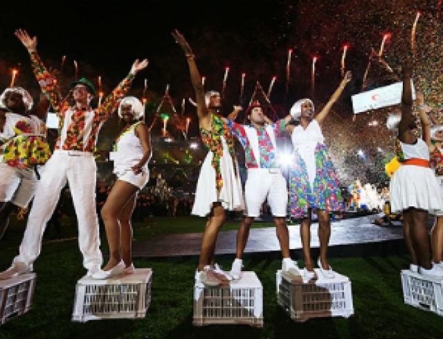 Закрытие Паралимпийских игр в Лондоне. Фото
