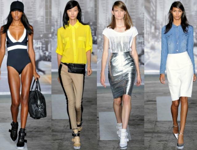 Неделя моды в Нью-Йорке: показ DKNY