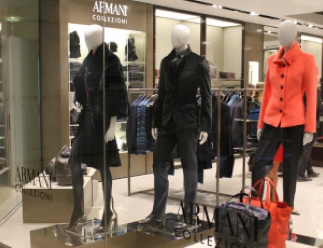 Открытие бутика Armani Collezioni в Киеве. Фото