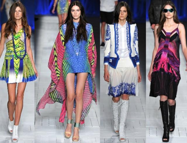 Неделя моды в Милане: показ Just Cavalli