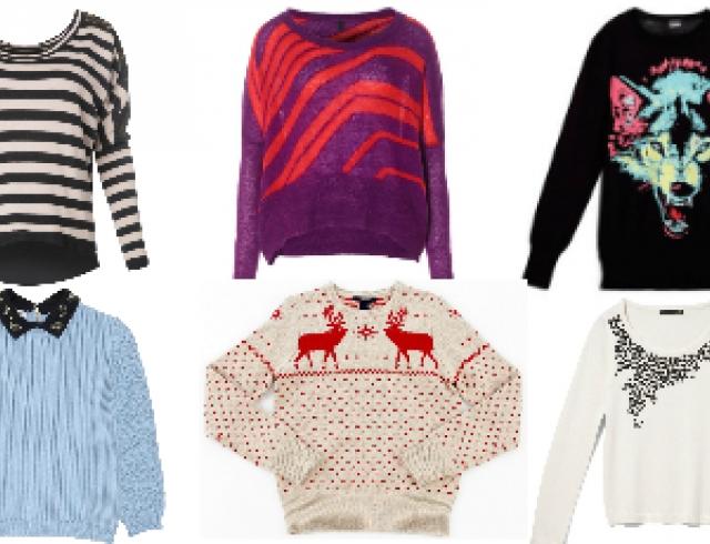 Модные свитера сезона осень-зима 2012-2013. Часть 1