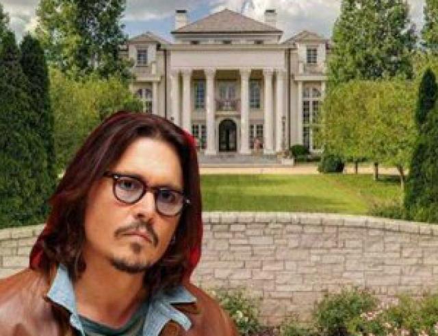 Джонни Депп купил особняк за 17,5 млн долларов. Фото