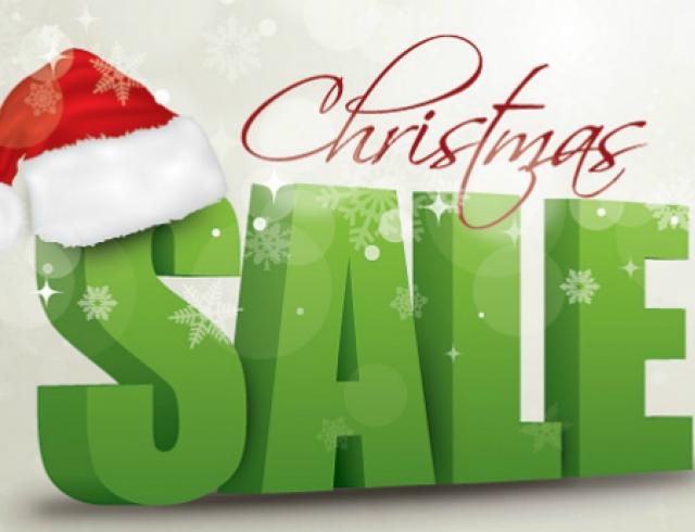 Рождественские скидки в магазинах и бутиках