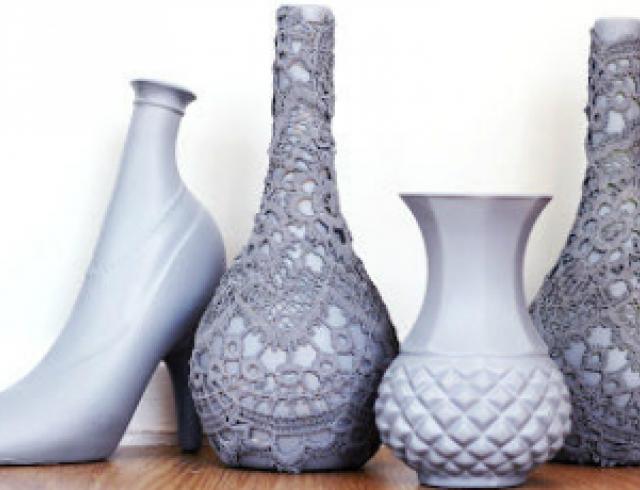 Видеоурок: делаем вазы из обычных предметов