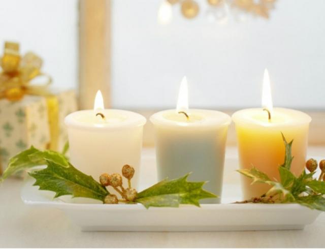 Мастер-класс: декоративные свечи своими руками