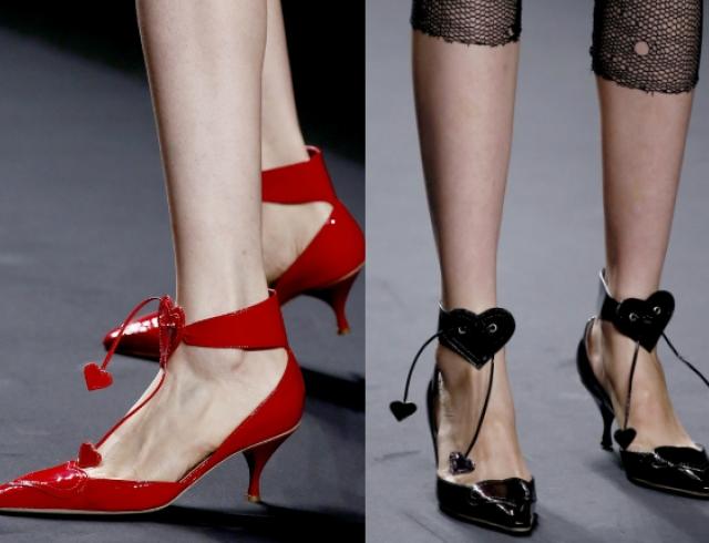 Туфли ко Дню Валентина от Anna Sui