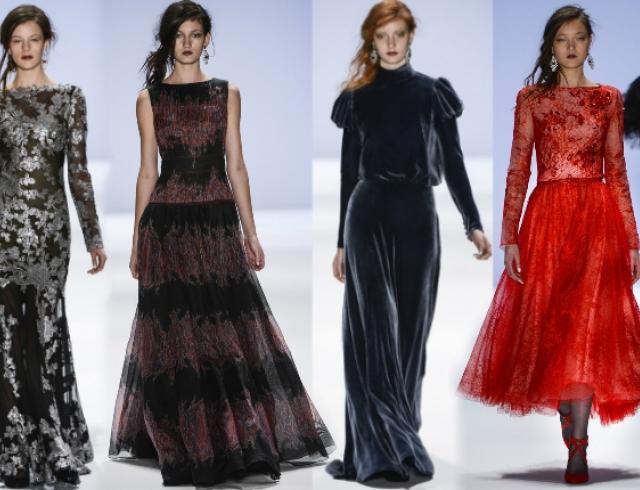 Неделя моды в Нью-Йорке: показ Tadashi Shoji f/w 2013-2014