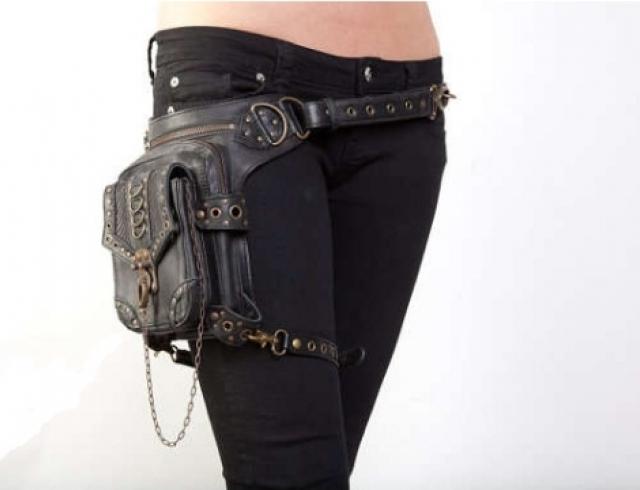 Новинка: сумка-кобура для решительных женщин