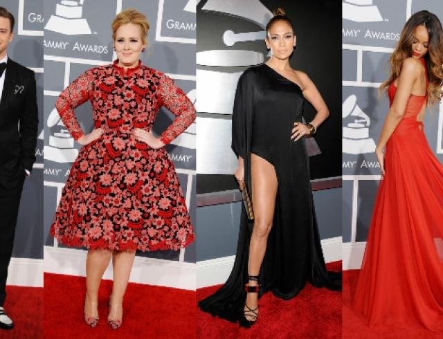 Grammy 2013: победители и красная дорожка. Фото