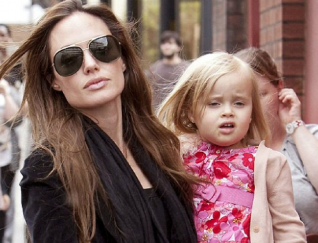 Дочь Джоли и Питта стала самой дорогой 4-летней актрисой