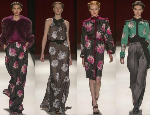 Неделя моды в Нью-Йорке: показ Carolina Herrera FW 2013-2014