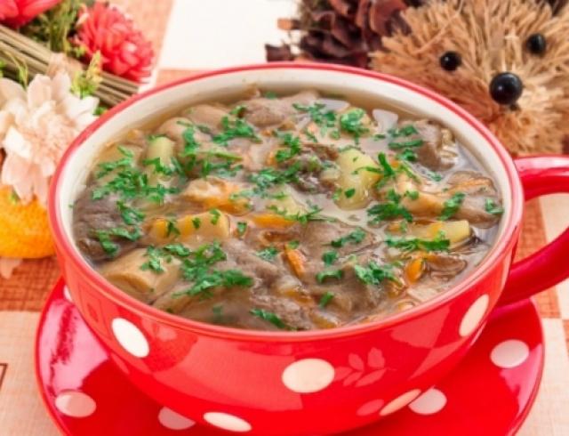 Как приготовить грибной суп?