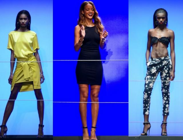 Неделя моды в Лондоне: Рианна представила коллекцию для River Island