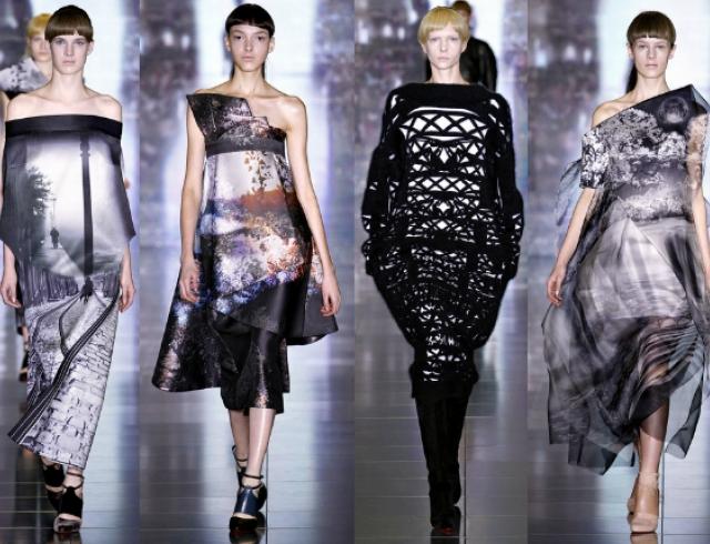 Неделя моды в Лондоне: Mary Katrantzou FW 2013-2014
