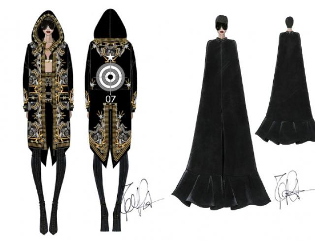 Дом моды Givenchy создал образы для тура Рианны