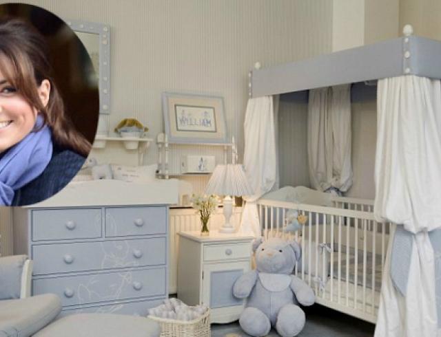 Кейт Миддлтон выбирает детскую для будущего ребенка. Фото