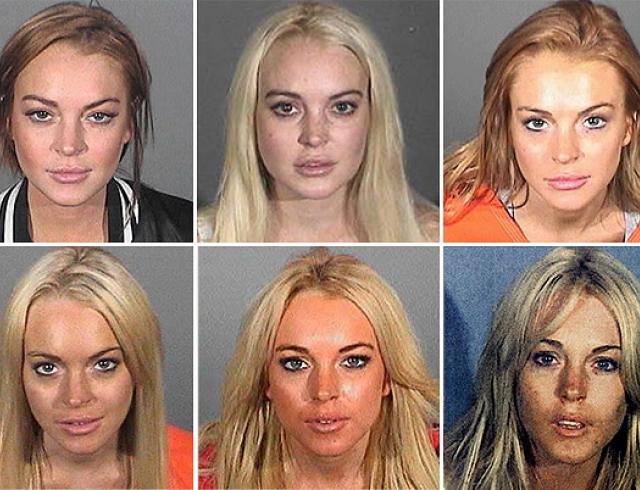Самые сексуальные арестованные знаменитости. Фото