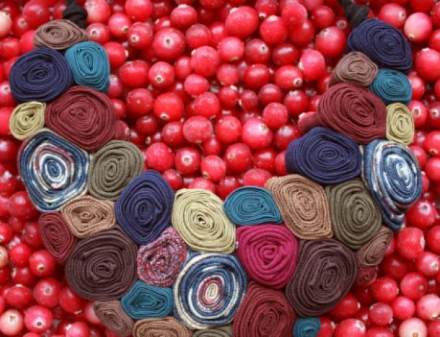 Мастер-класс: модные бусы из ткани своими руками