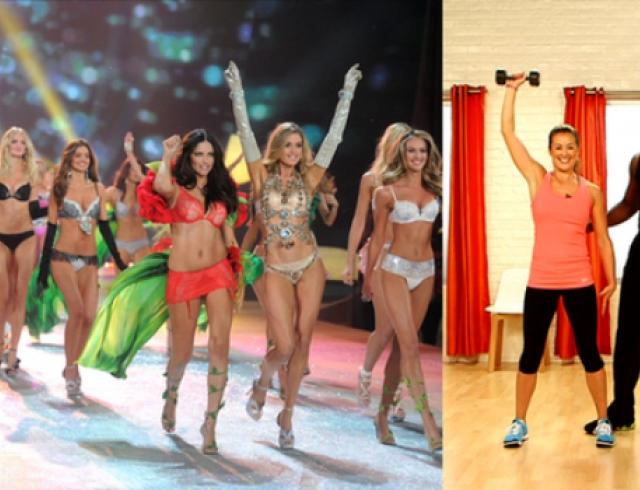 Фитнесурок от тренера моделей Victoria`s Secret. Видео