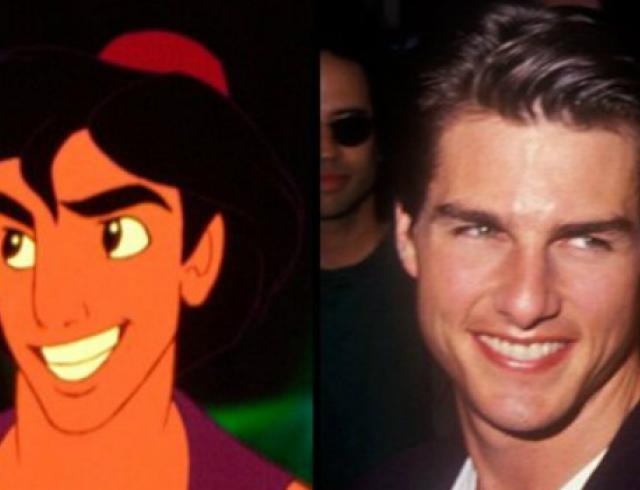 Знаменитости, которые похожи на героев мультфильмов Disney. Фото