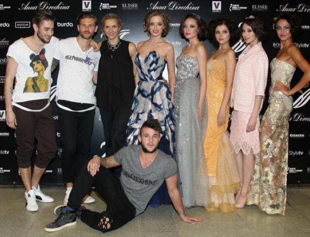 Неделя моды в Москве: ANNA DIRECHINA осень-зима 2013-2014