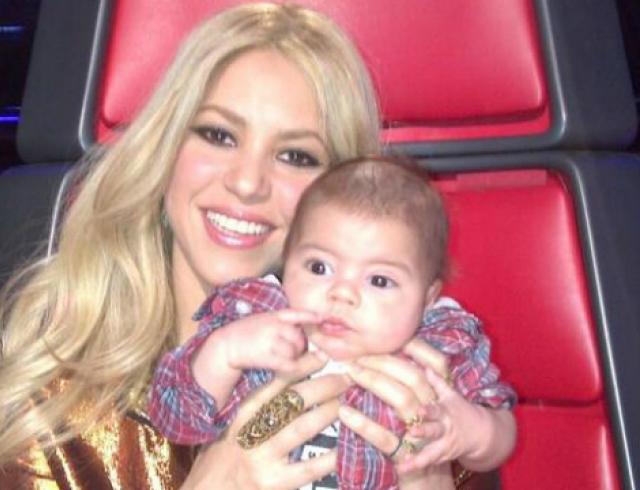 Шакира выложила в Сеть новые снимки сына. Фото