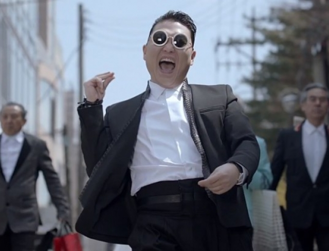 Певец PSY презентовал видео на песню Gentleman