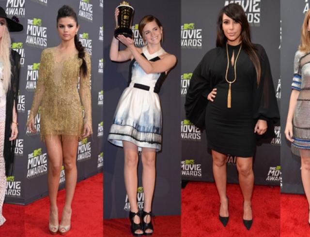 MTV Movie Awards 2013: красная дорожка и победители
