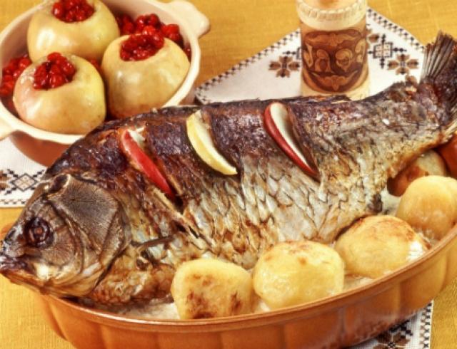 Фаршированная рыба от Аллы Ковальчук. Видеорецепт