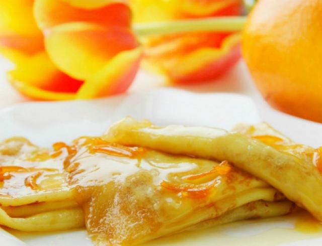 Французский завтрак Креп-Сюзетт. Видеорецепт