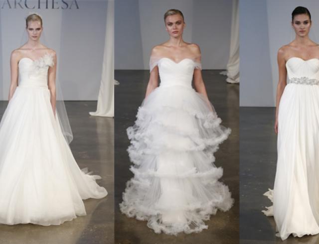 Свадебные платья Marchesa весна-лето 2014