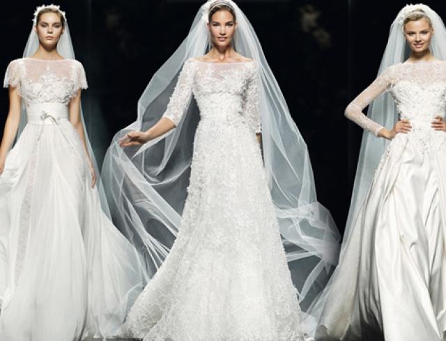 Самые модные свадебные платья 2013